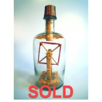 1006 - 1886 Yarn Winder in a Bottle - SOLD