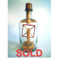 1006 - 1886 Yarn Winder in a Bottle - SOLD