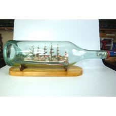 1153 - Diorama of the ship Potosi in a Bottle