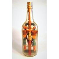 360 - Crucifixion Scene in a Bottle