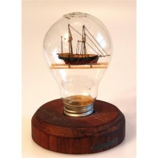427 - Schooner Ship in a Bottle