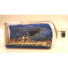 477-Gravenhurst POW Battleship in a Bottle