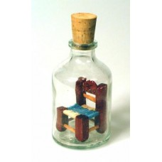 526 - Miniature Chair in bottle
