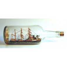 654 - General Charles H. Taylor Family Collection Ship in bottle