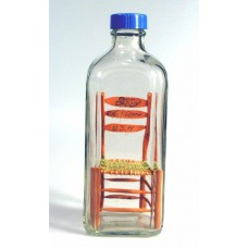 686 - World War II Gift Chair in bottle