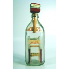 697 - Hot Springs, Arkansas Chair in bottle
