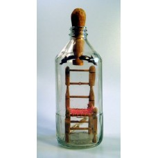 781 - Roscoe Axton Chair in a Bottle