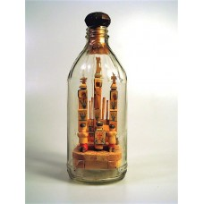 943 - Altar Scene in a Bottle