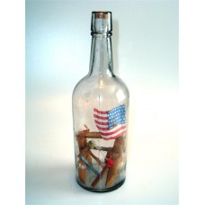 961 - Patriotic Theme in a Bottle