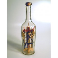 987 - Crucifixion Scene in a Bottle